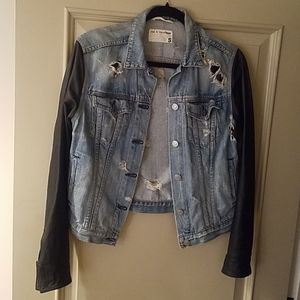 Leather & Denim Jacket